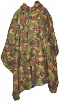 Unissued Dutch Army Issue DPM Ripstop Poncho
