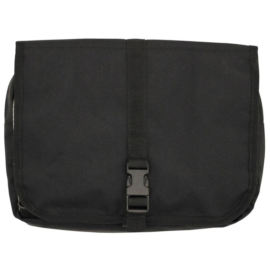 Dutch Army Wash Bag - Black