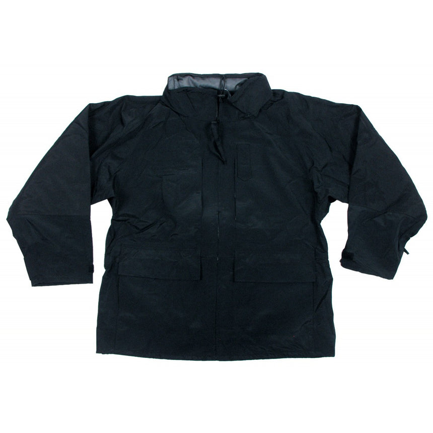 ECWCS Black Breathable Jacket with Fleece