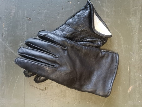 Ex Police Leather Gloves