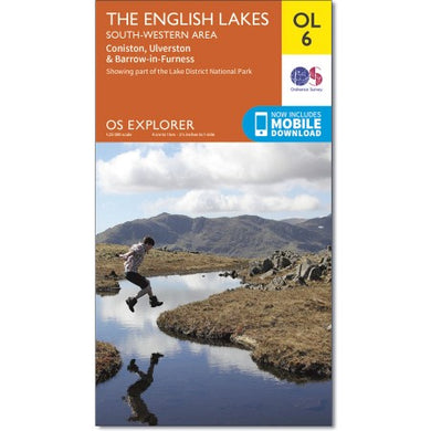 The English Lakes South Western Area OS Explorer OL06