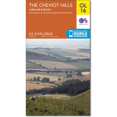 The Cheviot Hills OS Explorer OL16