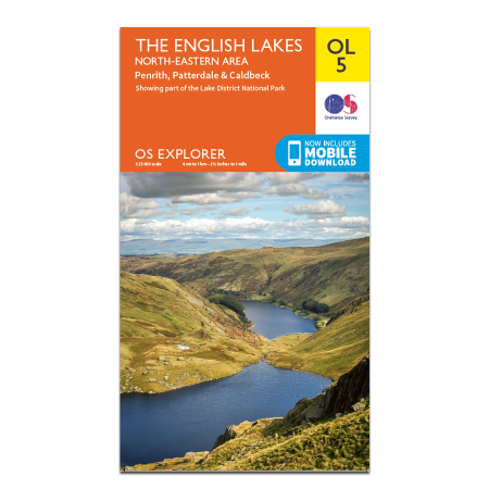 The English Lakes North Eastern Area OS Explorer OL05