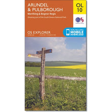 Load image into Gallery viewer, Arundel & Pulborough OS Explorer OL10