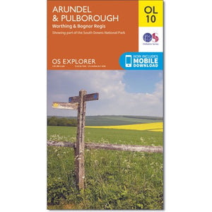 Arundel & Pulborough OS Explorer OL10