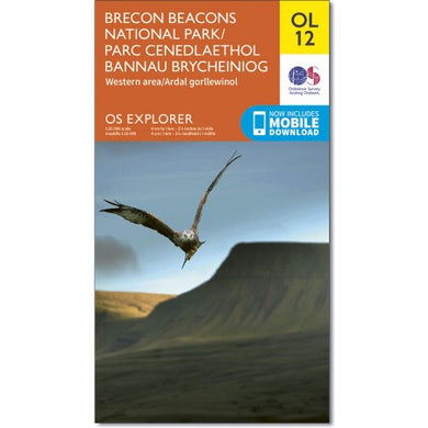 Brecon Beacons National Park (Western Area) OS Explorer OL12