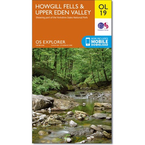 Howgill Fells & Upper Eden Valley OS Explorer OL19