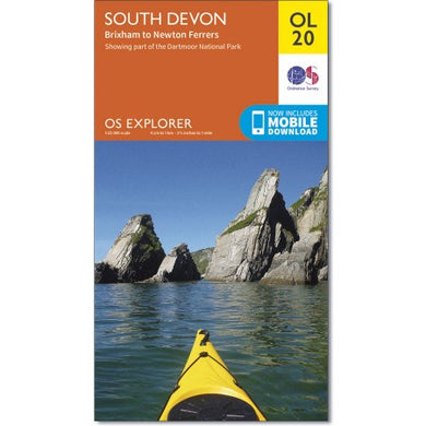 South Devon OS Explorer OL20