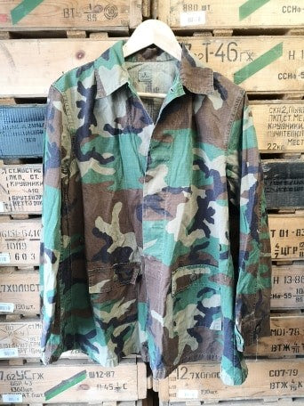 Female US Army Ripstop Woodland Shirt - Grade A