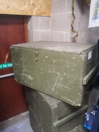 Finnish Army / Civil Defence Box
