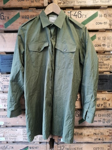 British Army Issue Olive General Service Shirt