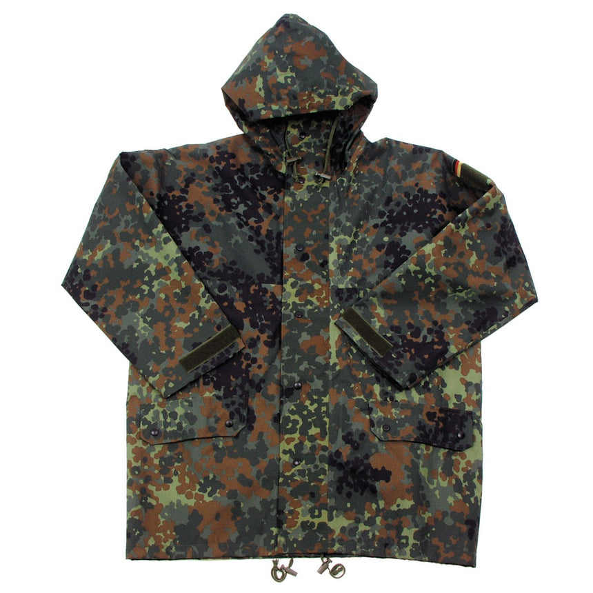 German Army Flecktarn Goretex Jacket