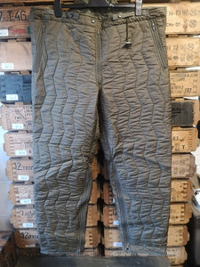 German Army Quilted Trousers - NEW