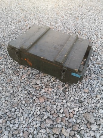 Polish Army Grenade Wooden Ammo Box