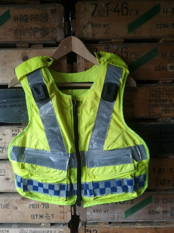 High Vis Ex Police Body Armour Cover