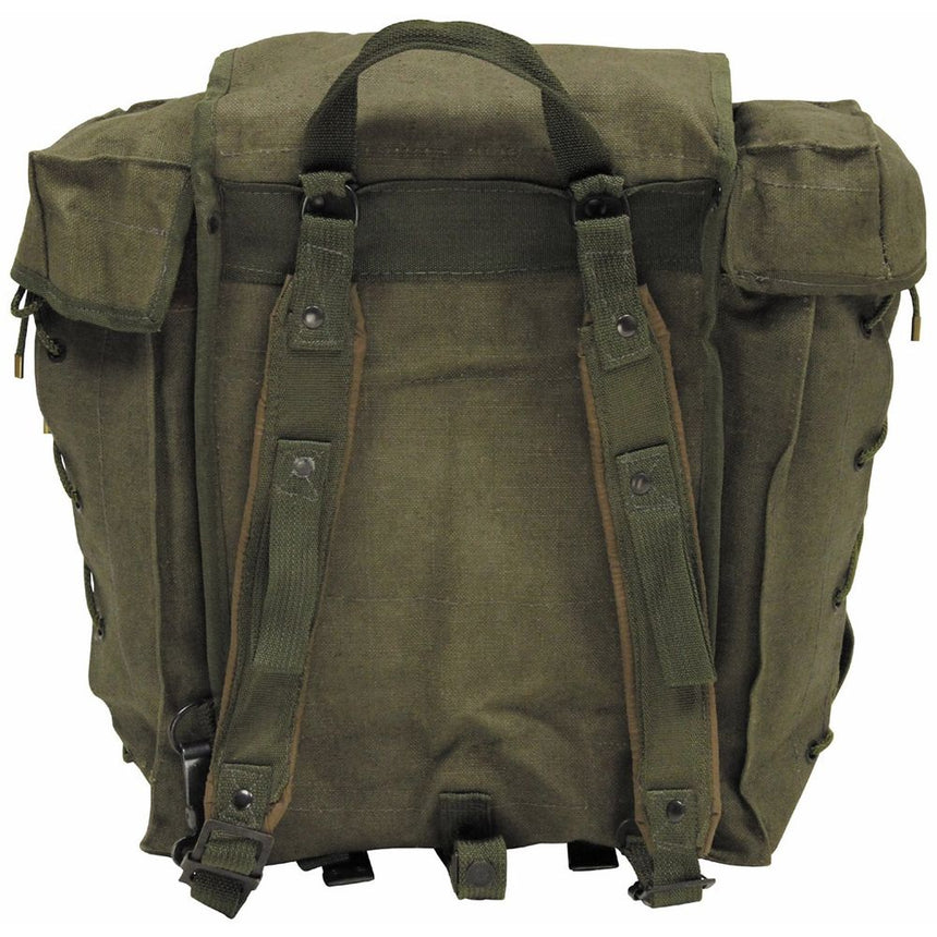 Italian Alpini Canvas Mountain Rucksack