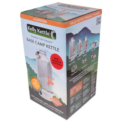 Large 'Base Camp' Kelly Kettle® Alu (1.6 ltr / 2.6 UK pints)