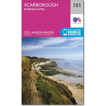 Load image into Gallery viewer, Scarborough OS Landranger 101