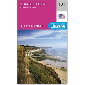 Scarborough OS Landranger 101