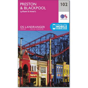 Preston & Blackbool OS Landranger 102