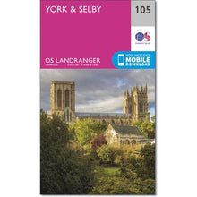 Load image into Gallery viewer, York & Selby OS Landranger 105