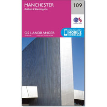 Load image into Gallery viewer, Manchester OS Landranger 109