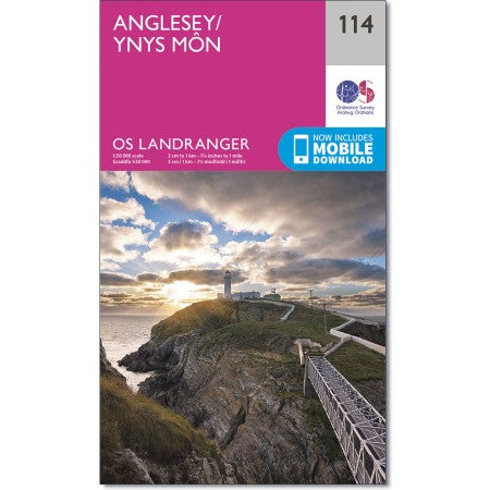 Anglesey/Ynys Mon OS Landranger 114