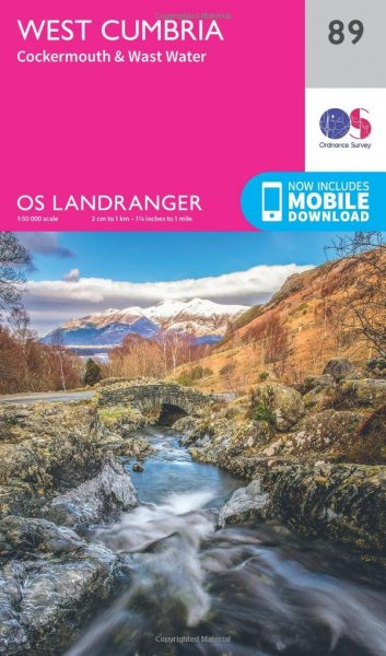 West Cumbria Os Landranger 89