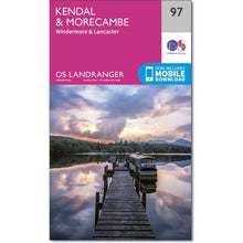 Load image into Gallery viewer, Kendal & Morecambe OS Landranger 97