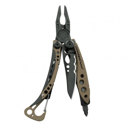 Leatherman skeletool® MultiTool Coyote Brown