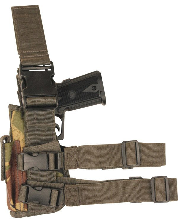 Left Handed Drop Leg Adjustable Holster DPM