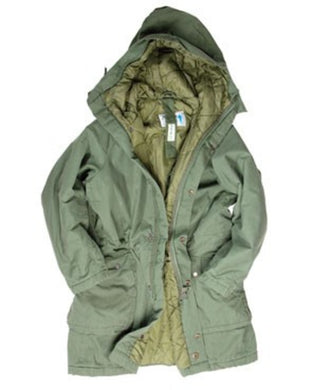 Swedish Army M90 Parka (lined hood)