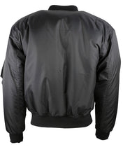 Load image into Gallery viewer, MA1 Flying Jacket Black