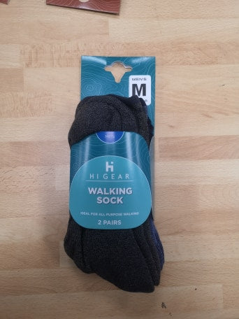 Mens 2pk Walking sock