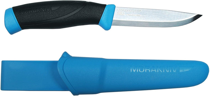 Hi-Viz 860 Light Blue Companion Morakniv® Stainless Steel Knife