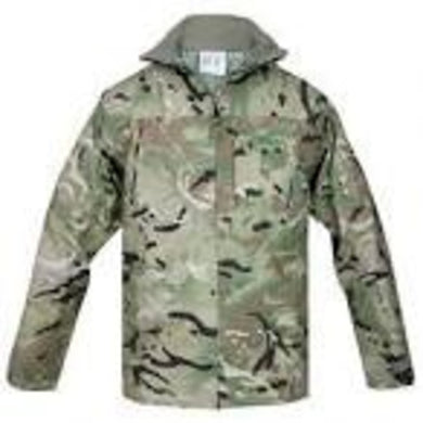 British arny MTP Waterproof lightweight Goretex jacket