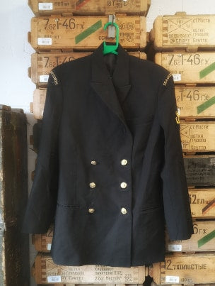 British Royal Navy Uniform Jacket Class 1