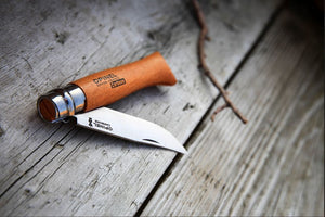 Opinel Classic Knife No. 8 - Carbon Steel