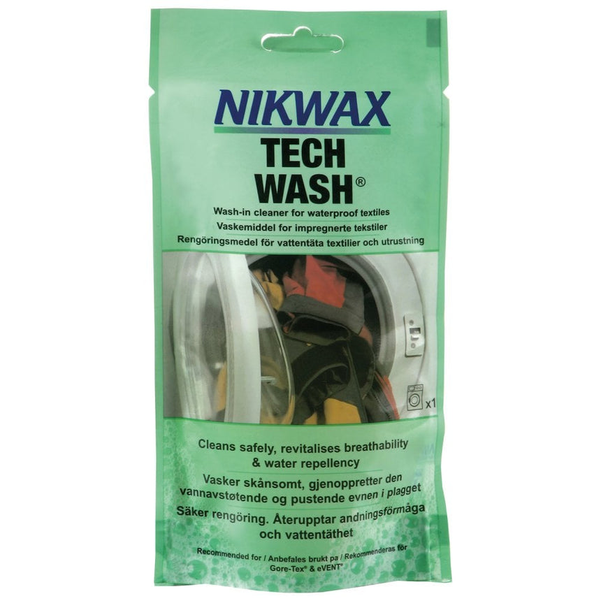 Nikwax Tech Wash® 100ml pouch