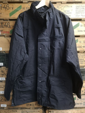Black Breathable Jacket ex Police