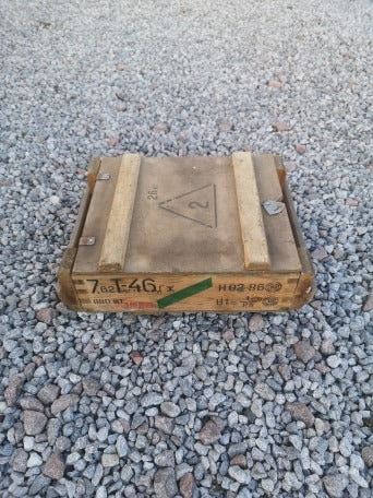 Polish T64 Wooden Ammo Box