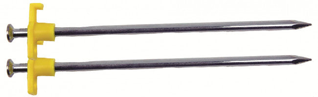 Steel Rock Peg 18cm 4 pack