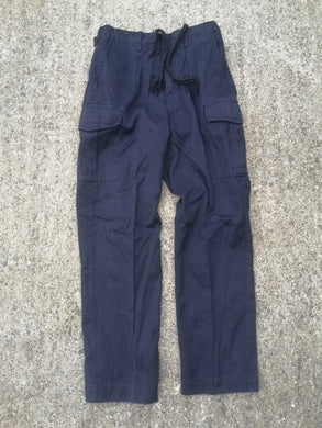 British Navy Cargo Trousers NEW