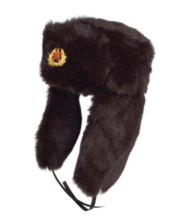 Russian Army Cossack Hat - Black