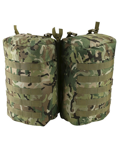 PLCE Multi Camo Molle Side Pouch - Single