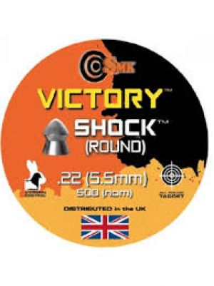 Victory Shock (round) .22 pellets