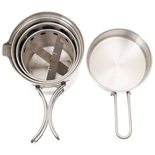 Load image into Gallery viewer, Stowable Cookset - Stainless Steel