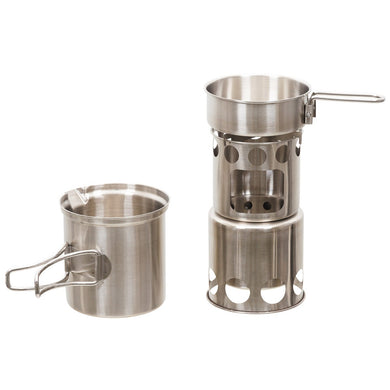 Stowable Cookset - Stainless Steel