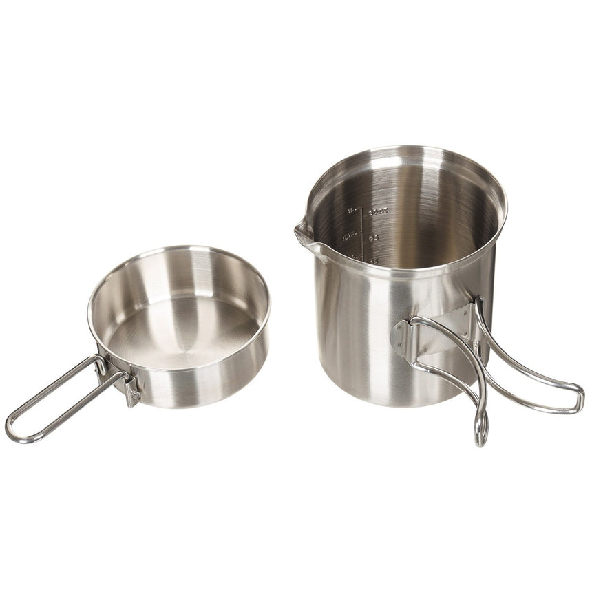 Stowable Stainless Mess Kit