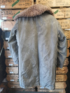 Genuine Swedish Army M1909 Sheepskin Parka (105)